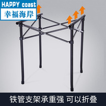 H·fan Outdoor Folding Table portable stall table Barbecue table aluminum Beach table Camping table