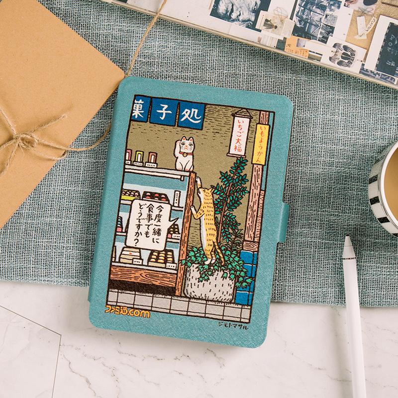 日系 kindle paperwhite2/3保护套咪咕558休眠voyage1499/958入门