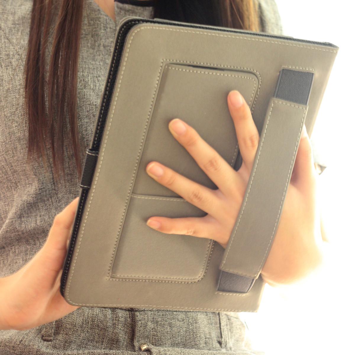 手持防摔 蘋果ipad air2保護套帶休眠ipadair皮套平板電腦ipad6殼