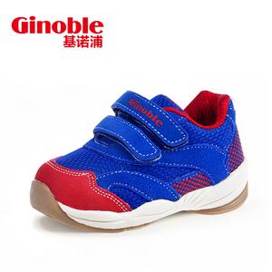 基诺浦 春款男女童鞋软底婴儿鞋宝宝学步鞋防滑机能运动鞋TXG245