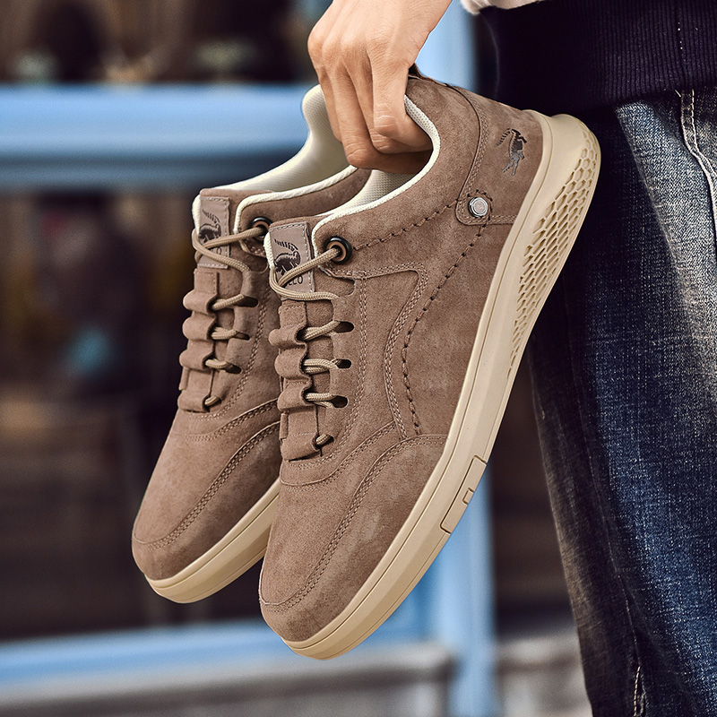 Cardile crocodile mens shoes winter fashion shoes new trend sports casual shoes leather versatile low top board shoes for men