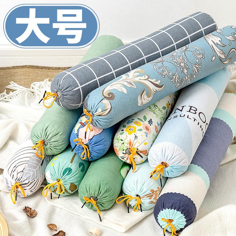 护颈椎枕单人睡觉糖果圆柱长硬枕头质量如何