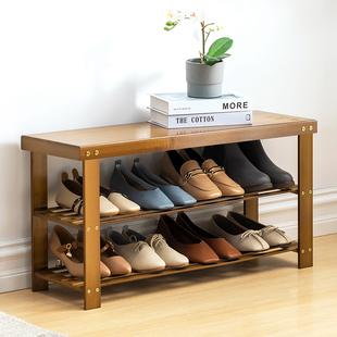 入门换鞋凳可坐式家用进门口创意超窄简约现代小鞋柜实木穿鞋凳子品牌