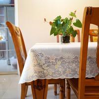 多沃现代简约pvc桌布防水防油免洗塑料长方形餐桌布台布茶几桌布