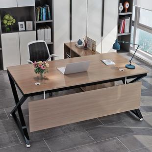 经理主管桌单人办公桌办公家具 老板桌总裁桌简约现代大班台时尚