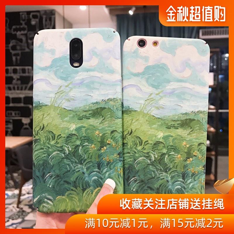 (用1元券)田园油画opporenoz r17 r15手机壳
