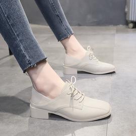 小皮鞋女英伦风学生2020春款新款韩版鞋子秋冬季百搭平底复古单鞋