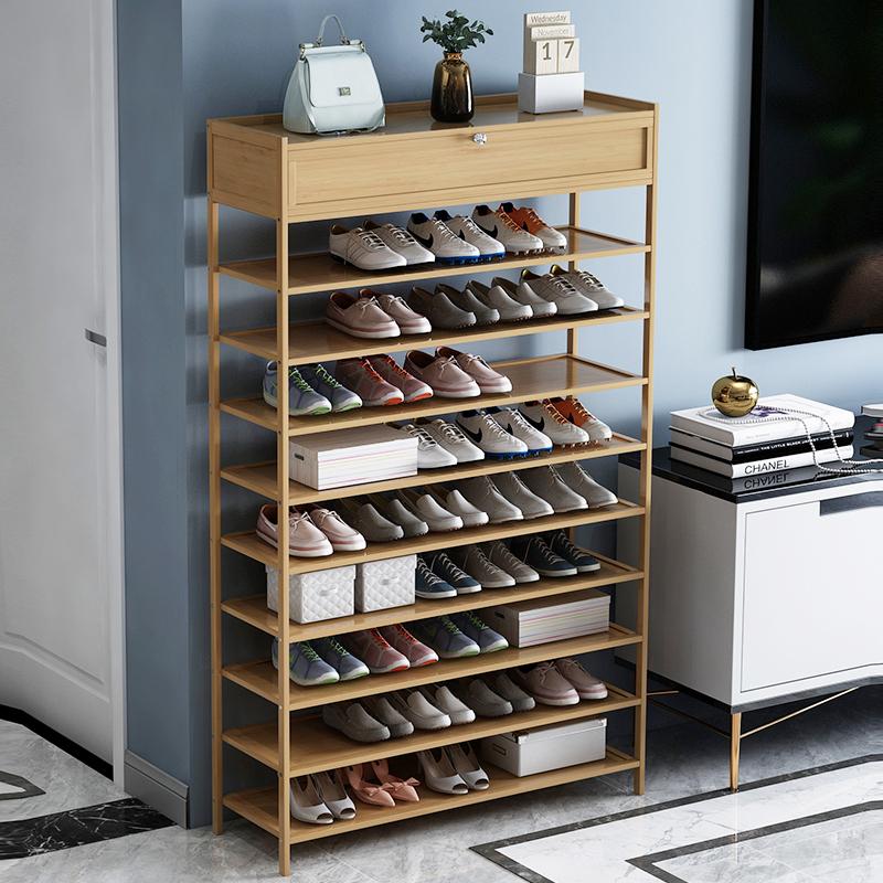 多层大容量多功能门口家用室内鞋架