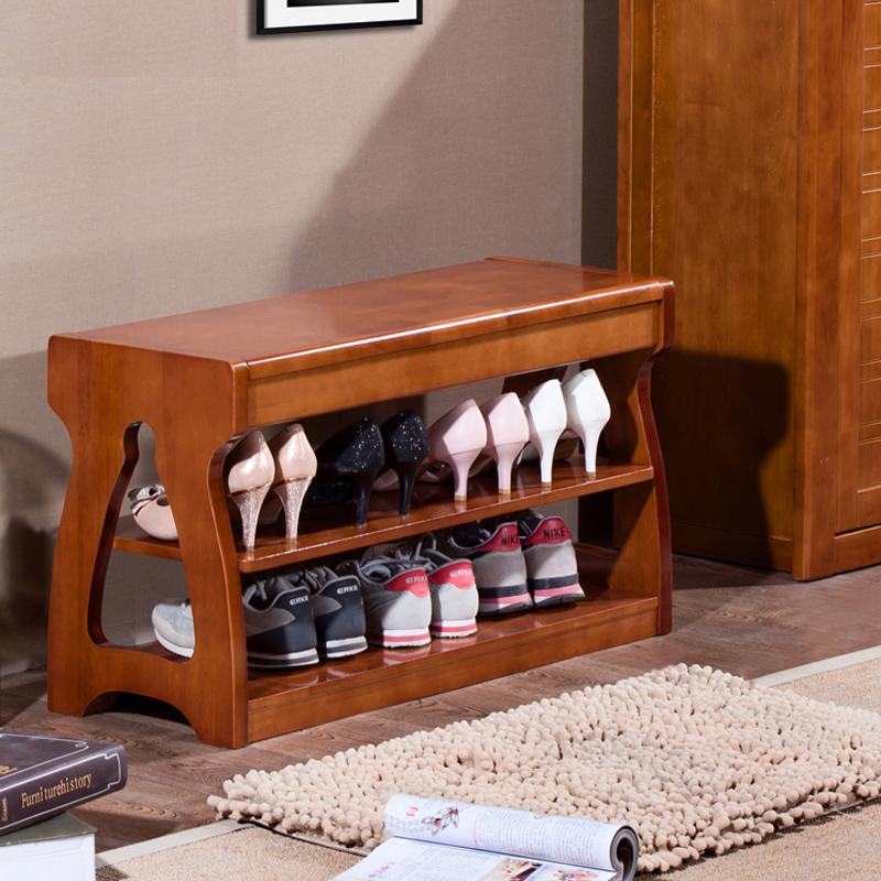 实木换鞋凳穿鞋凳储物收纳凳多功能玄关门口鞋凳简约鞋柜鞋架