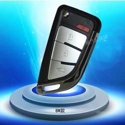 配铁将军汽车防盗器对拷学习型折叠遥控钥匙改装汽车钥匙遥控器