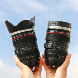 镜头保温杯 网红单反水杯ins男生夏季创意潮流咖啡杯个性相机杯子