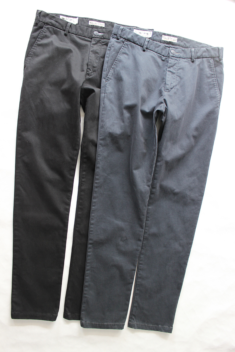 Real shot mens casual pants and trousers are pure original, slim and elastic heavy industry washed thick fabric