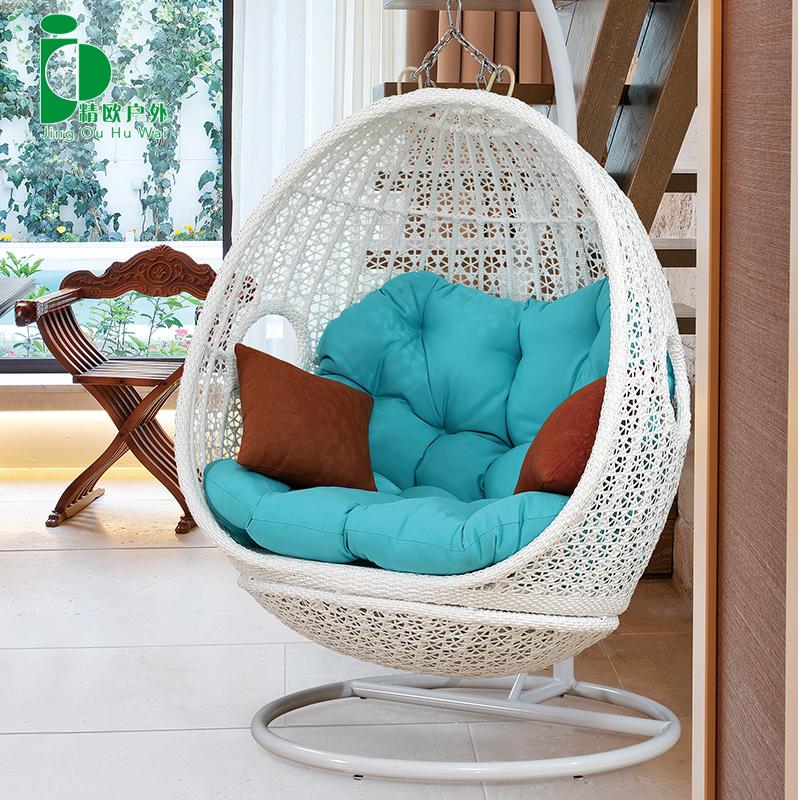Хорошо европа на открытом воздухе комнатный для взрослых корзина плетеный стул один вешать стул балкон домой двойной качели бездельник колыбель стул