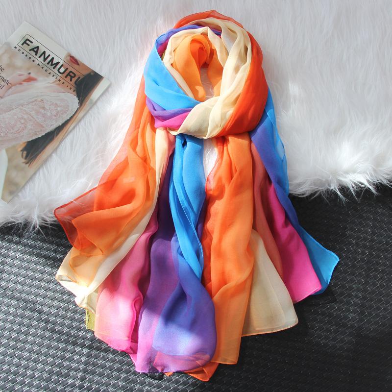 Женские шарфы из шифона Артикул 607215932188