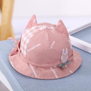 春秋宝宝渔夫帽女童盆帽子韩版薄款婴幼儿夏季棒棒糖婴儿遮阳春夏图片