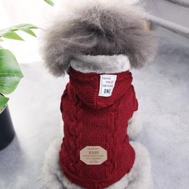泰迪衣服秋冬装宠物小型犬比熊博美贵宾幼犬小狗狗毛衣加厚款服饰图片