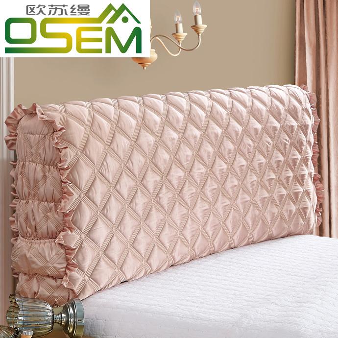 Все включено ткань кровати покрытия мягкий чехол прикроватный крышка простой современный континентальный кожа кровать пылезащитный чехол 1.8 кровать защитный кожух