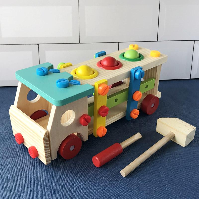 多功能益智螺丝螺母启蒙拆装玩具