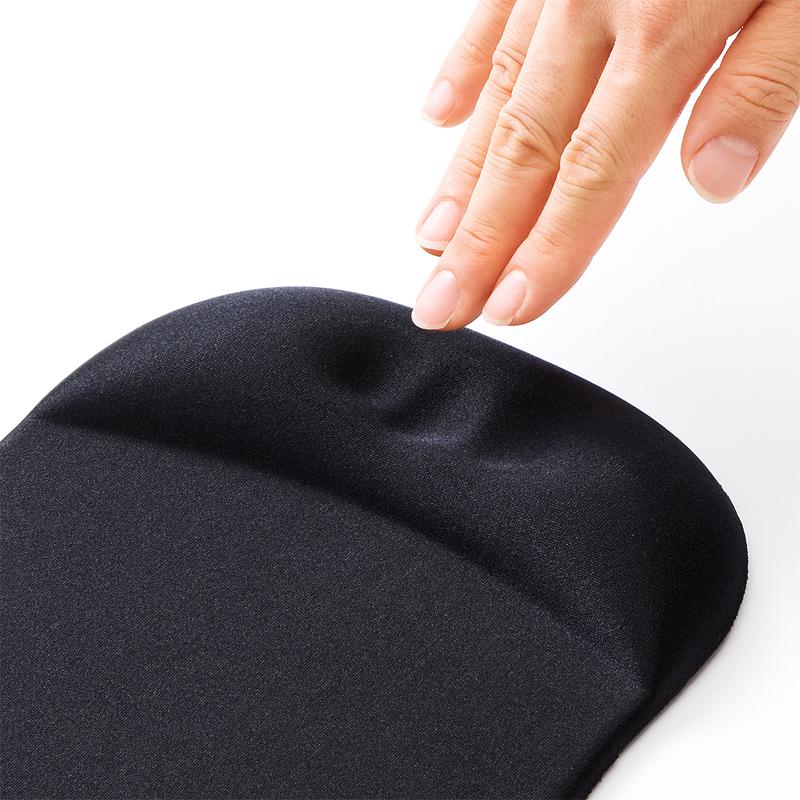 日本sanwa大尺寸人体工学带护腕垫