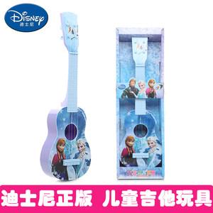 迪士尼正版小吉他音乐玩具儿童益智初学可弹奏乐器尤克里里男女孩
