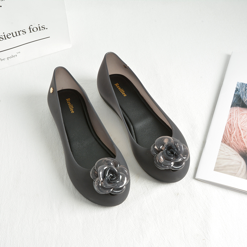 New Korean jelly shoes womens sandals in 2021 summer