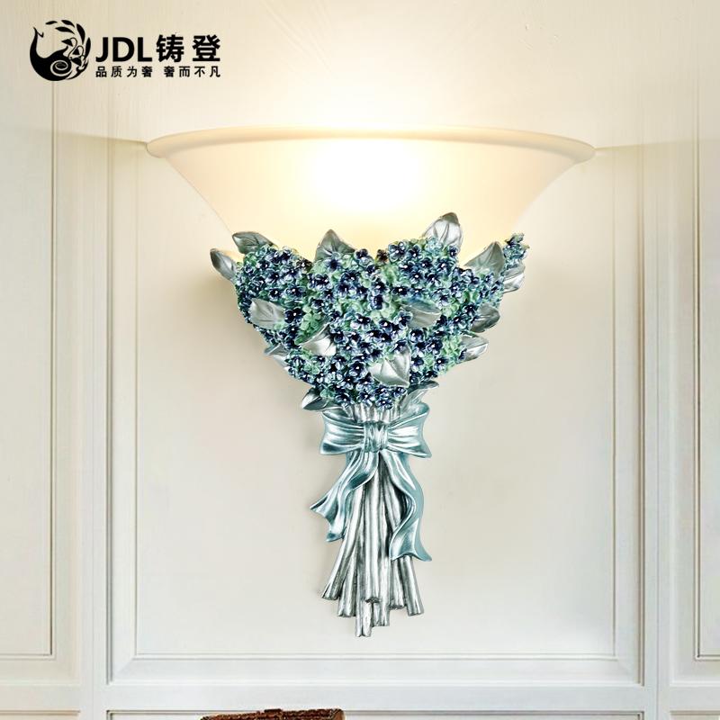 欧式客厅壁灯卧室床头壁灯楼梯灯过道壁灯创意装饰电视背景墙壁灯