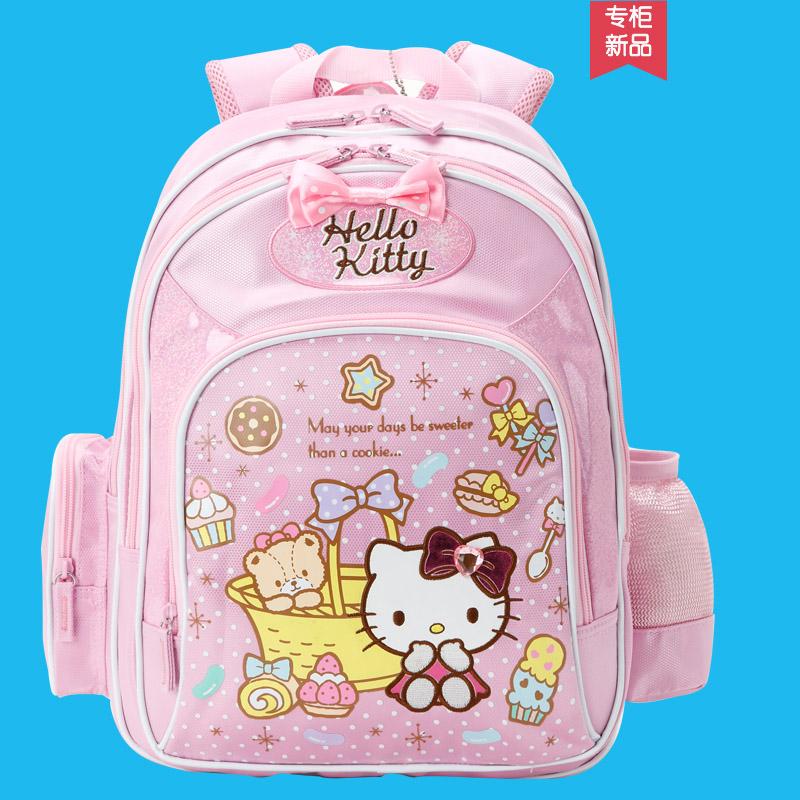 凱蒂貓兒童小學生幼兒園書包女學前班雙肩包1~3~5年級KT6~12周歲