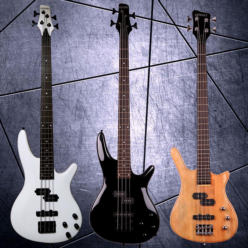 Спец. предложение Начинающие фигуры с электрическим басовым пламенем 24 продукта металлический Электрический бас IB стиль Игра в гитару Bass Electric