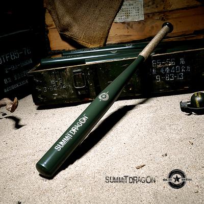 summitdagon military style heavy alloy steel baseball bat family car defense baseball bat thickened and heavy