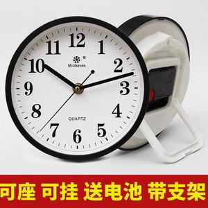 钟表摆件台式桌摆座钟支架挂钟客厅时钟挂表时钟桌面石英表挂墙上