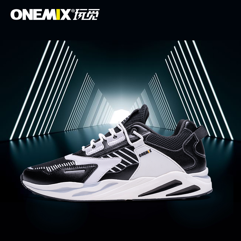 Onemix looking for new summer fashion dad shoes mens casual sports shoes mens cushioning, ventilation and lightweight shoes shock absorption