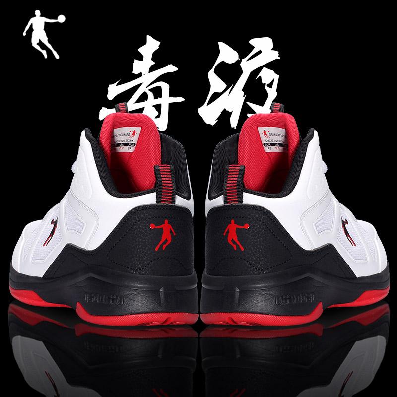 乔丹中帮篮球鞋男鞋毒液5球鞋詹姆斯战靴欧文5秋冬2020学生运动鞋图片