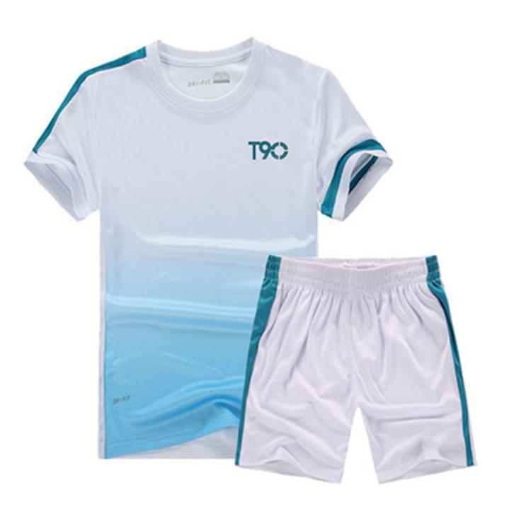 运动套装男健身套装夏季休闲运动服运动装短袖短裤跑步速干运动衣