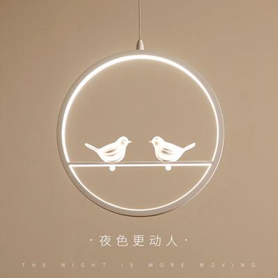 玄关入户过道灯餐厅走廊现代简约led小鸟创意儿童房阳台北欧灯具 - 封面