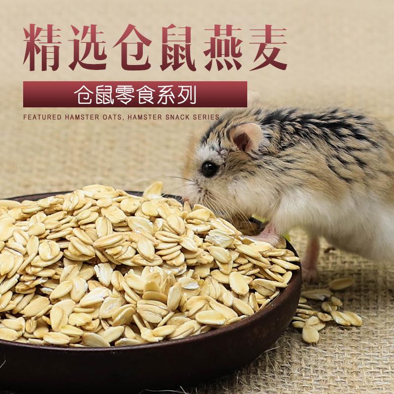 仓鼠粮食兔子荷兰猪龙猫零食燕麦片营养无糖麦片食物磨-猪饲料(宠悦宠物用品专营店仅售1.8元)