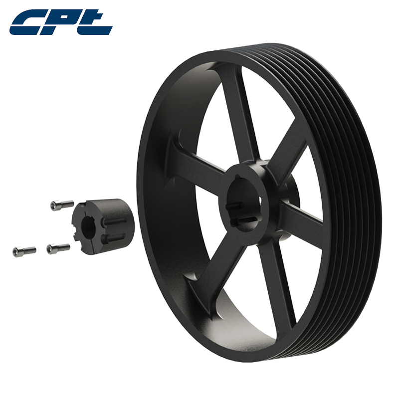 CPT Европ стандартный Pulley SPB630-08-4545 содержит Шкив из чугуна с электродвигателем конической втулки можно настроить