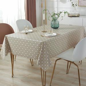 加厚pvc桌布防水防油免洗茶几布布艺盖巾餐桌垫网红客厅北欧高档