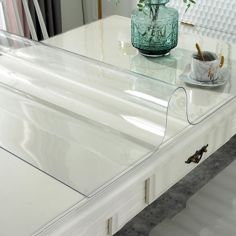 tpu透明茶几餐桌垫水晶板玻璃桌布质量怎么样