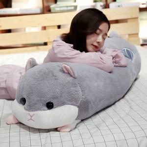床上抱枕靠枕床头长条靠垫大靠背卡通睡觉枕头可爱沙发可拆洗女生