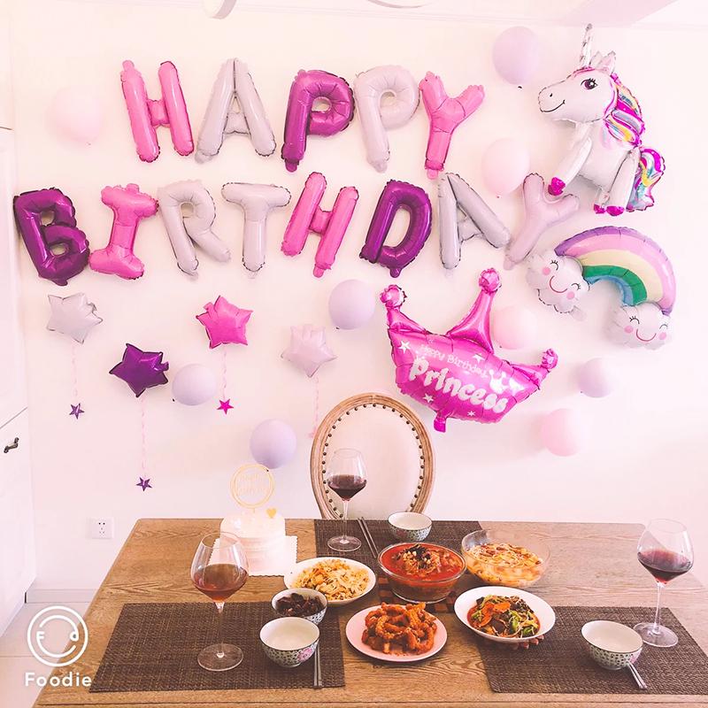 11月10日最新优惠宝宝周岁生日布置派对装饰定制气球