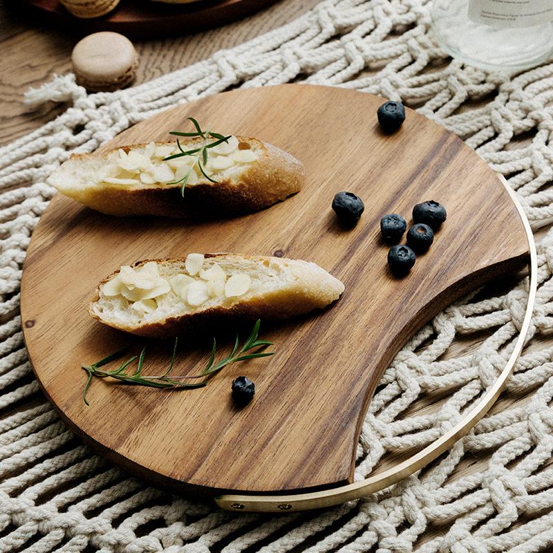 家用实木北欧创意小菜板厨房面包板10月14日最新优惠
