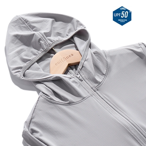 UPF50+冰丝夏季防晒衣男女户外轻薄款防紫外线防晒服皮肤外套风衣