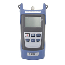 Optical Power Meter High Precision Optical Fiber Tester Optical Fading Test Sending FC/SC Lifelong Quality Light-Maintaining Power Device with 7 Wavelengths Backlight and Timely Shutdown of 1MW/10MW/20km Red Light