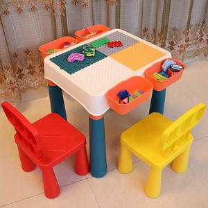 领3元券购买多功能积木桌男孩子3-4-6-8岁玩具