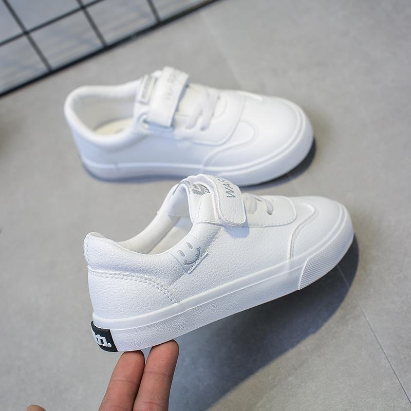 回力童鞋2021春新款男童鞋儿童小白鞋女童鞋子白色板鞋女小学生鞋