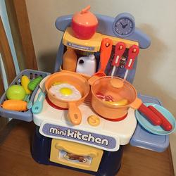 儿童过家家小厨房玩具套装宝宝2男女孩3岁仿真6炒菜厨具做饭煮饭