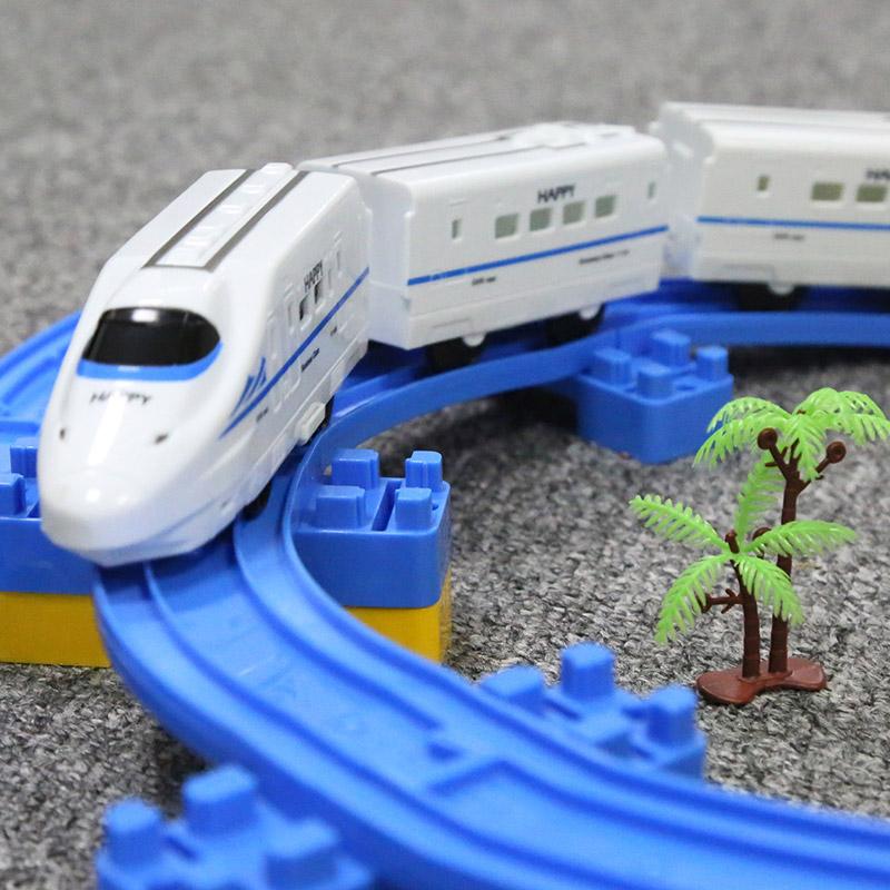 托馬斯小火車套裝軌道車電動動車玩具高鐵和諧號兒童過山車男孩