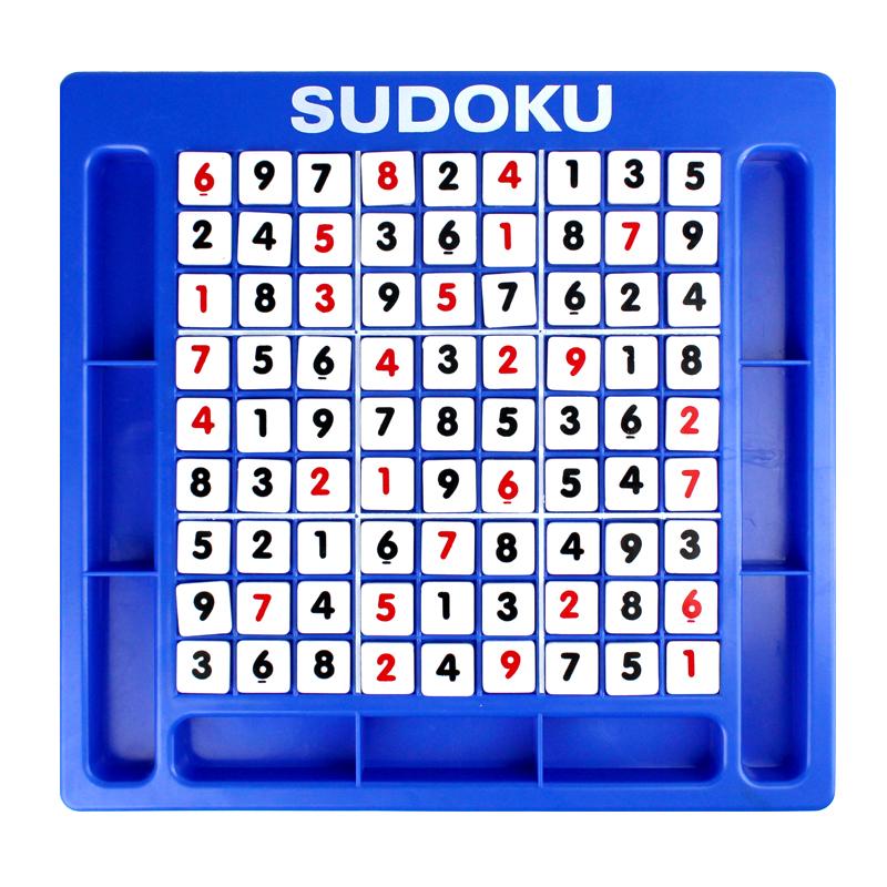 第一教室兒童益智早教數字遊戲桌麵 九宮格 數獨遊戲 sudoku玩具
