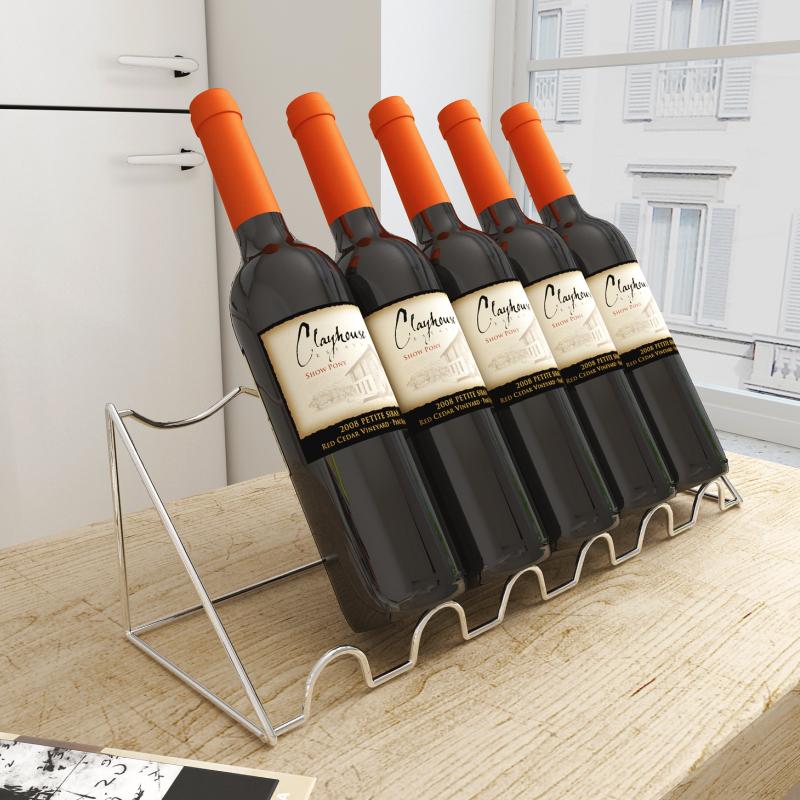 红酒架斜放葡萄酒展示酒托酒柜吧台
