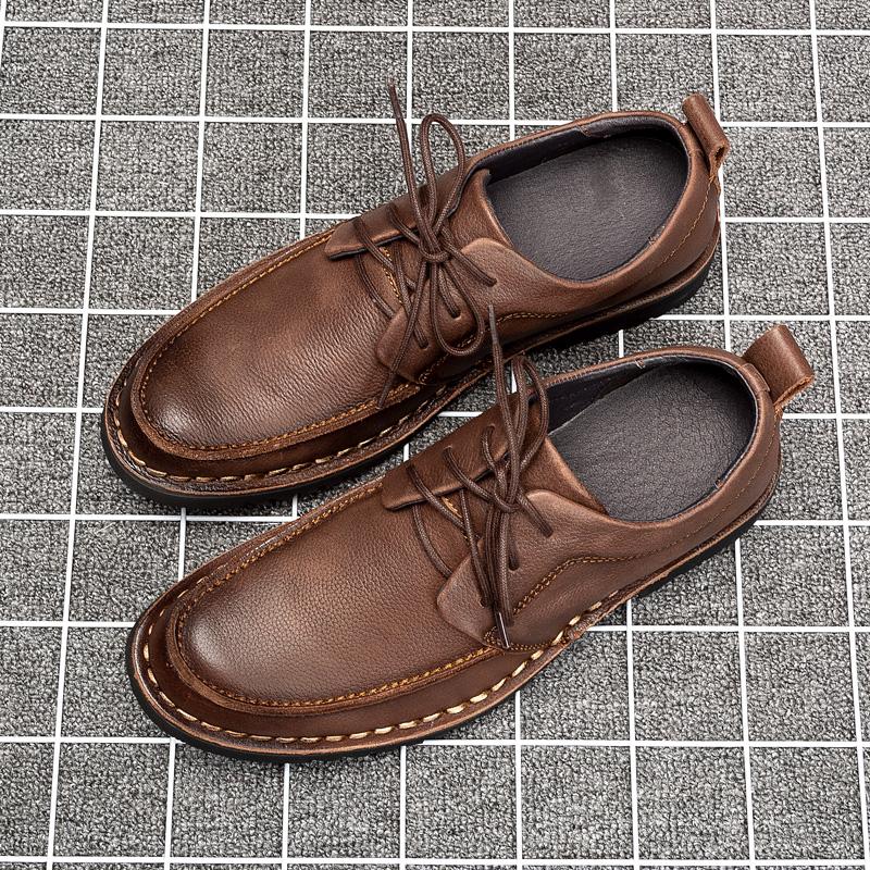 头层牛皮鞋
